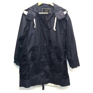 JCrew Navy Blue Rain Jacket